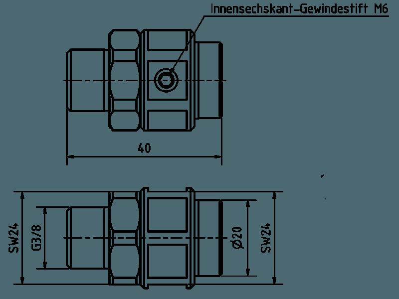 Schnelladapter G3/8