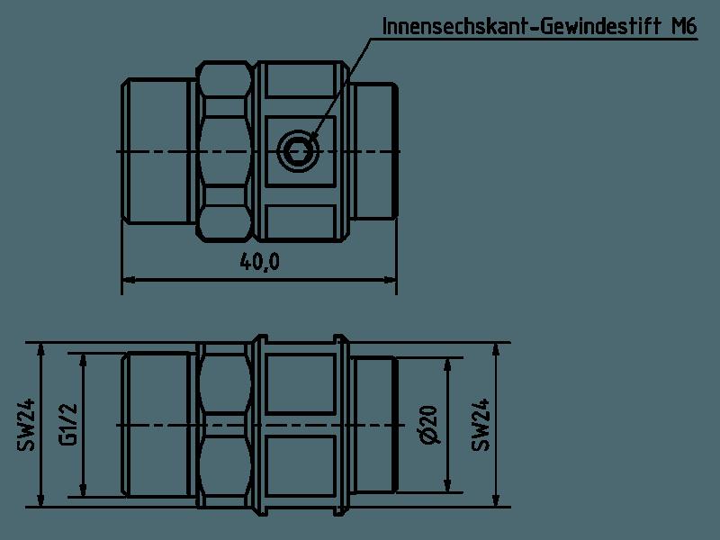 Schnelladapter G1/2