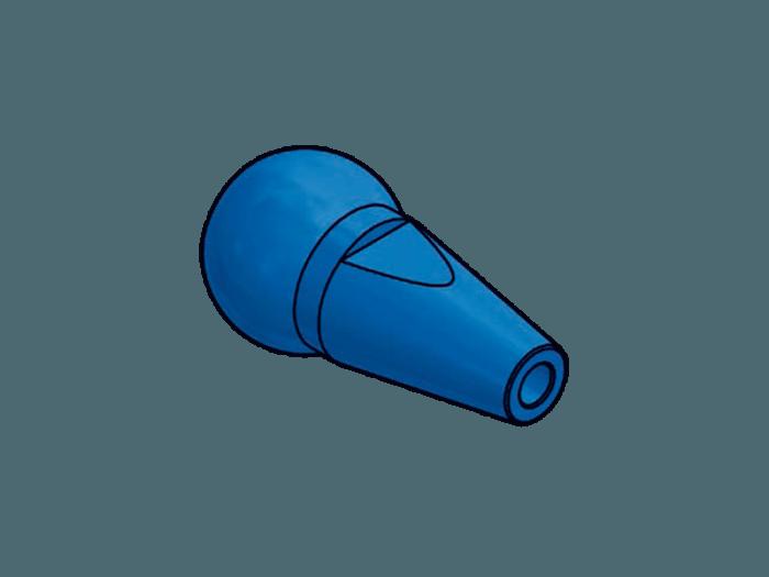 Duese 4.0 Aluminium farbig