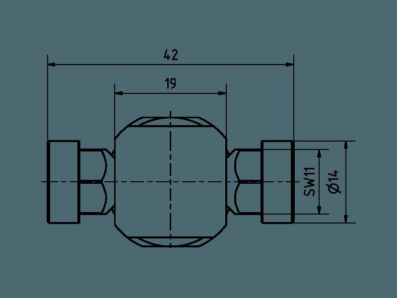 T-Winkel Reduzierung auf 2 x Best-1
